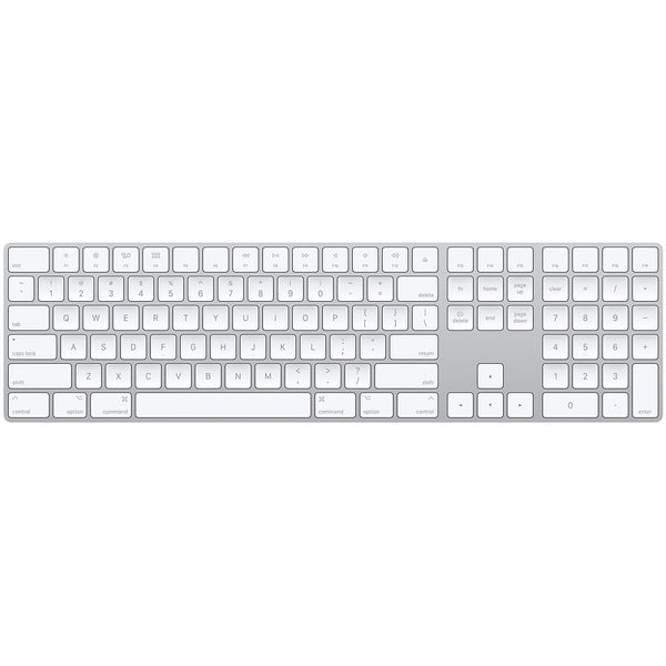 Apple Magic Keyboard with Numeric Keypad (Bluetooth) US English White MQ052LL/A