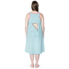 Happy Birthwear Gown Epidural Flap Detail