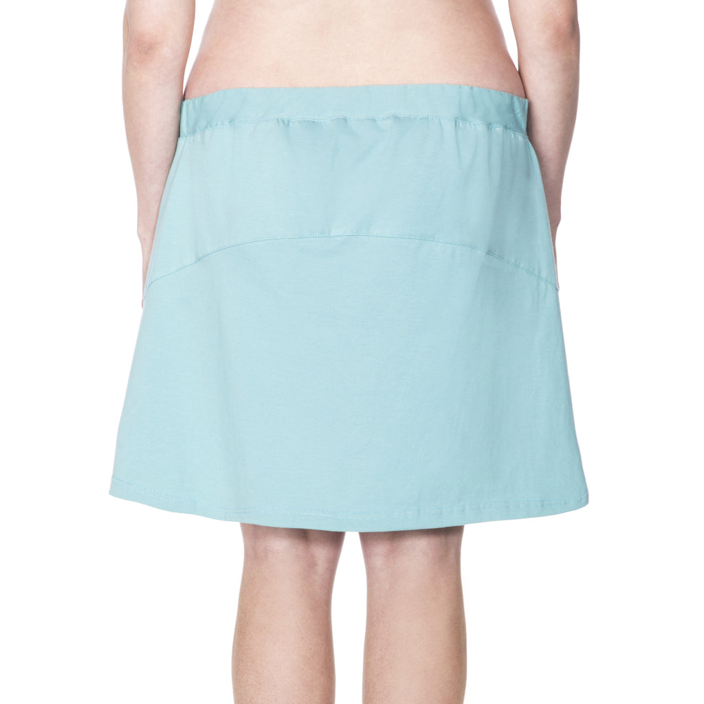 Happy Birthwear Skirt in Aqua (back)