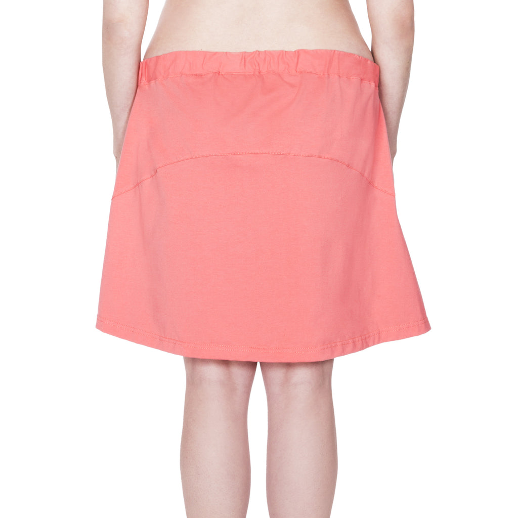 Happy Birthwear Skirt in Coral (back)