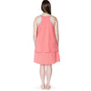 Happy Birthwear Skirt & Half Top in Coral (back)