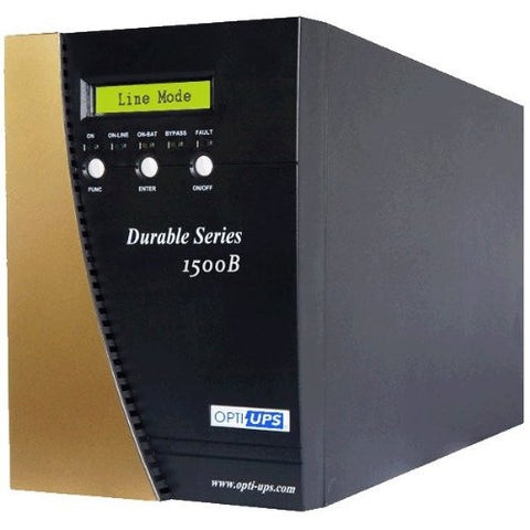 DS1500B (1500VA / 1050W) Online UPS Sinewave Double Conversion, 6-outlets, LCD, USB and Serial Port, data/phone protection