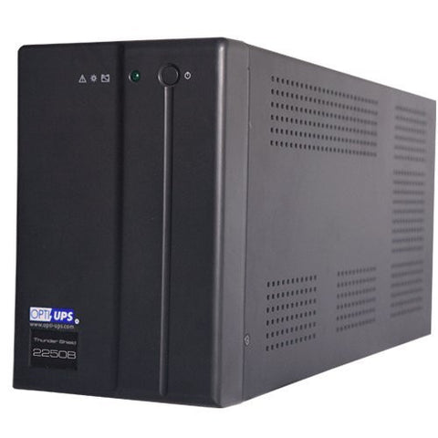 TS2250B (2000VA / 1200W) Line Interactive UPS w/ AVR 5-outlets, data/phone protection, USB port, data/phone protection