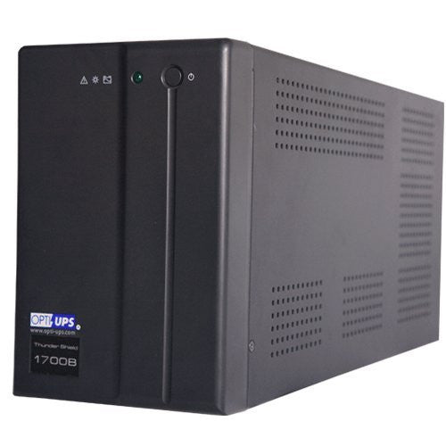 TS1700B (1500VA / 900W) Line Interactive UPS w/ AVR 5-outlets, data/phone protection, SERIAL port, data/phone protection