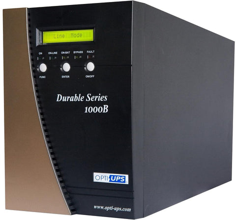 DS1000B-2X (230V) (1000VA / 700W) Online UPS Sinewave Double Conversion, 6-outlets, LCD, USB and Serial Port, data/phone protection
