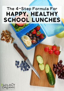 The 4-Step Formula For Happy, Healthy School Lunches
