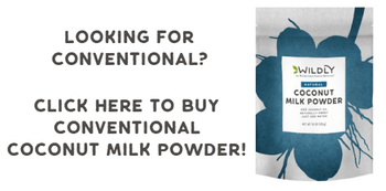 Converntional coconut milk powder