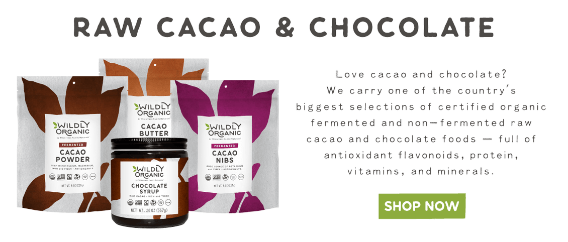 Buy Organic, Raw, Fermented and Non-Fermented Cacao Powder