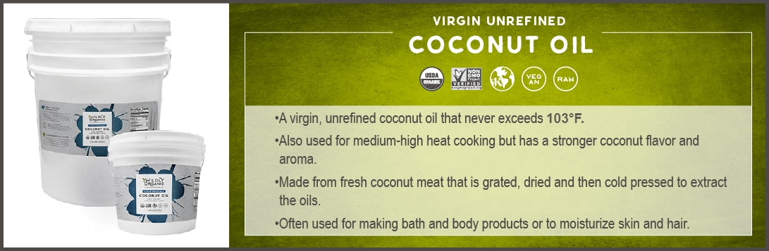 Virgin Coconut Oil - Cold Pressed