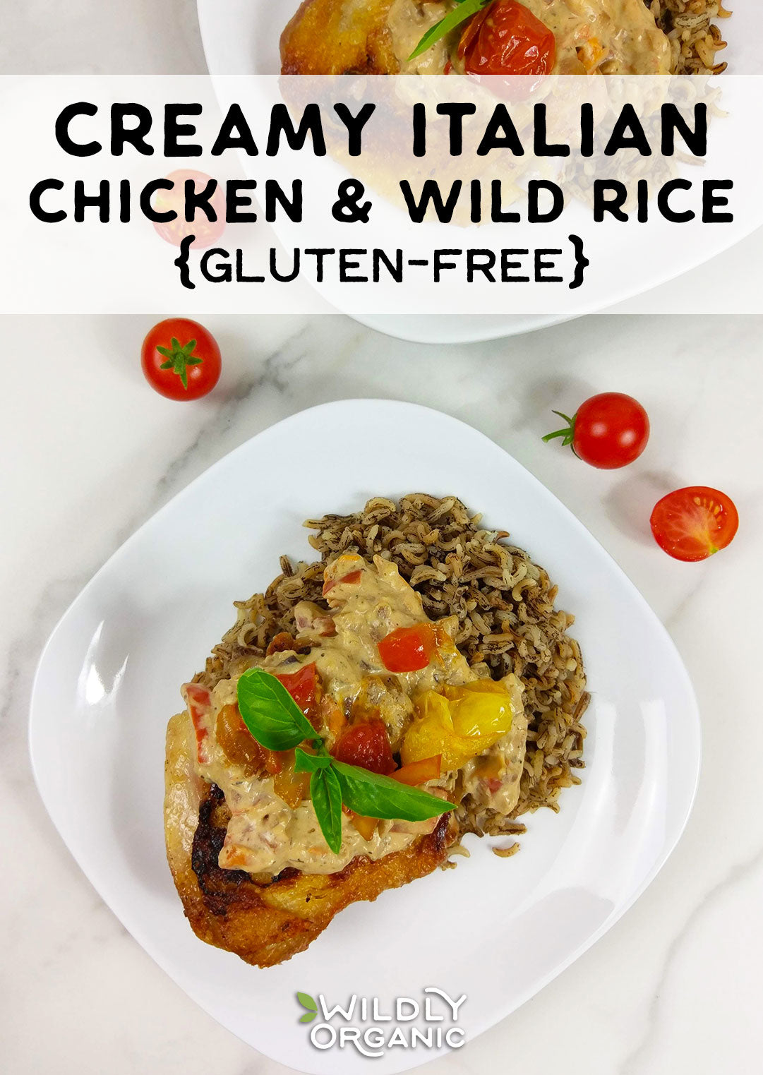 Photo of Creamy Italian Chicken and Wild Rice | This easy Creamy Italian Chicken and Wild Rice recipe uses Italian dressing for quick and delicious flavor. It's perfect for weeknight meals that the whole family will love. It's ready in just under an hour, too. Use precooked wild rice for an even faster prep time. What's not to love about this gluten-free meal?