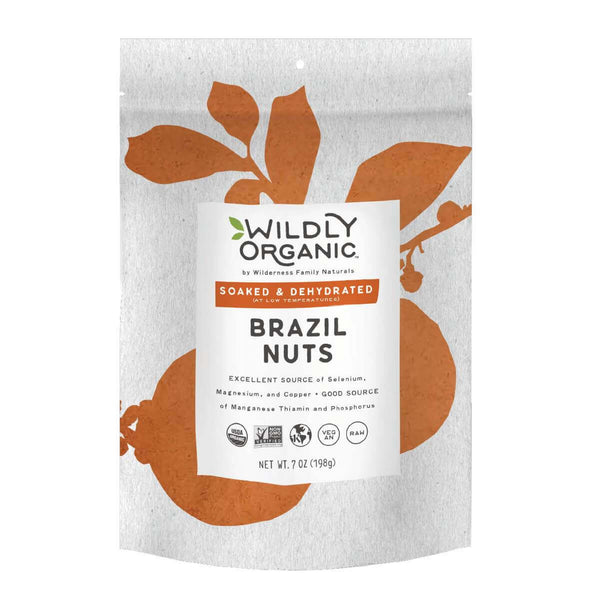 A bag of Wildly Organic Brazil Nuts