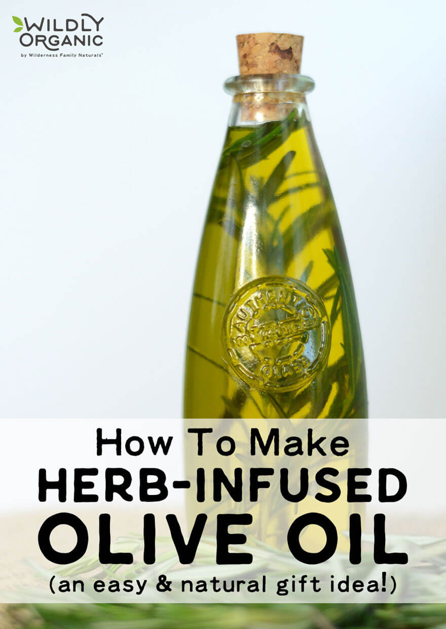 Herb-infused oil looks like a gourmet treat, but iseasy to make and can be a wonderfully unique gift. With a high-quality olive oil and a bit of planning ahead, you can learn how to make herb-infused olive oil with any of your favorite herbs or spices -- like basil, rosemary, thyme, chilies, or garlic! Herb-infused oils look beautiful and taste delicious in cooking!