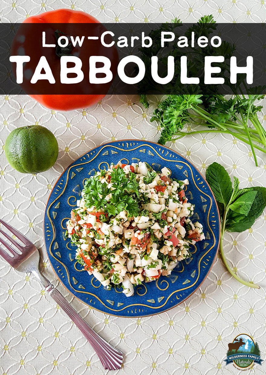 Low-Carb Paleo Tabbouleh Wildly Recipee