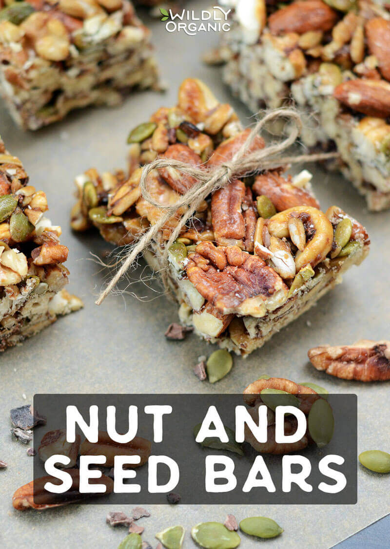 Wildly organic Nut and seed bars