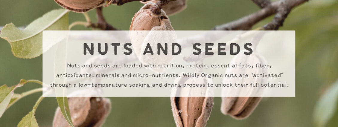 Nuts and Seeds | Wildly Organic by Wilderness Family Naturals