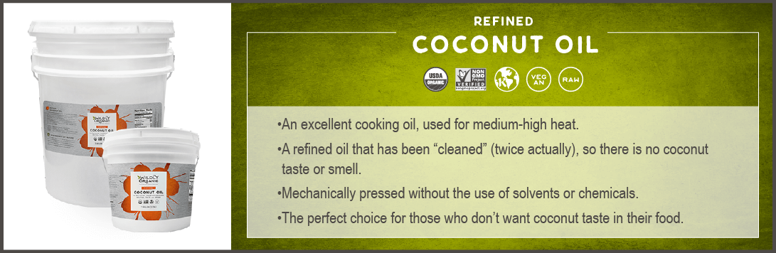 Refined Coconut Oil - Expeller Pressed