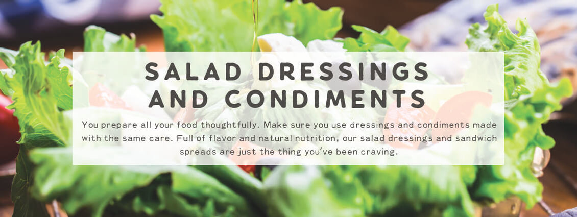 Salad Dressings & Condiments | Wildly Organic by Wilderness Family Naturals