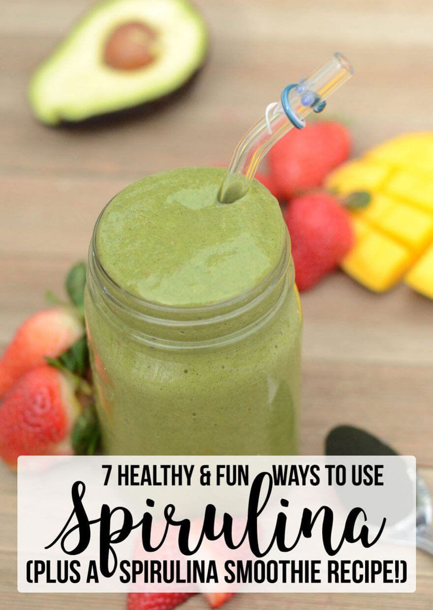 Healthy & Fun Ways To Use Spirulina (plus a spirulina smoothie recipe!)   It may be the most nutrient-dense food on the planet... but that doesn't do much good unless you know how to use it! Here are 7 nutritious and fun ways to use spirulina, including a spirulina smoothie recipe! (You're going to be shocked by #7!)   WildernessFamilyNaturals.com
