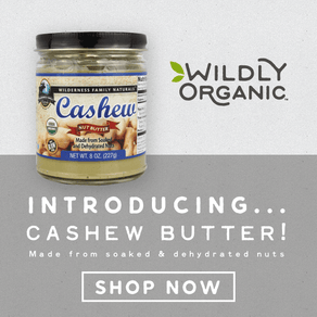 New! Buy organic cashew butter!