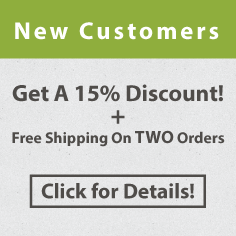 New Customers Get 15% off + Free Shipping!