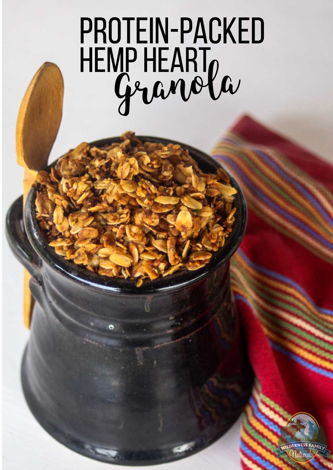 Protein Packed Hemp Heart Granola