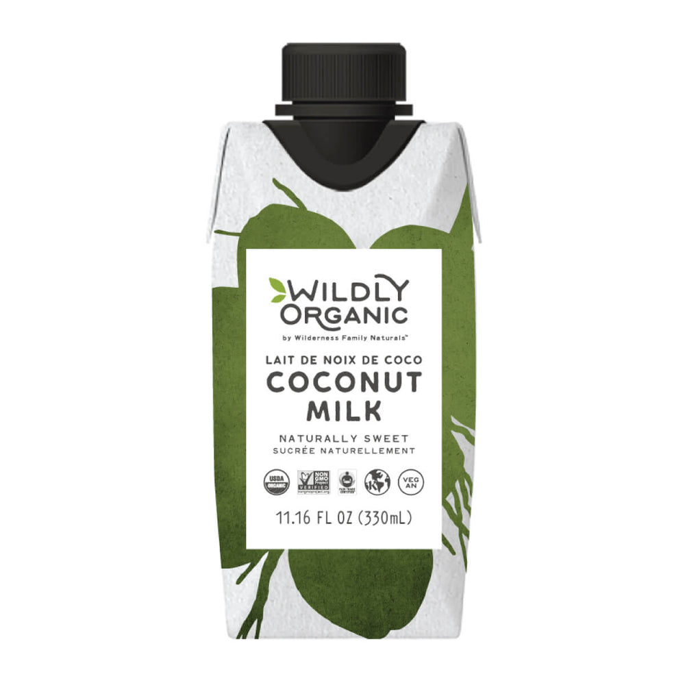 coconut milk in a Tetra Pak container
