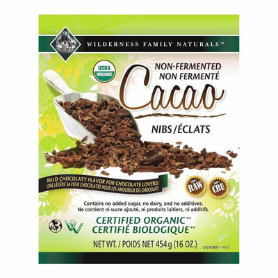 Non-Fermented Cacao Nibs | Organic