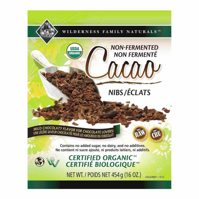 Non-Fermented Cacao Nibs