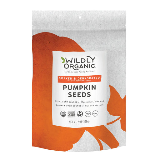 Nuts, Raw, Soaked and Dried, Certified Organic, Pumpkin Seeds