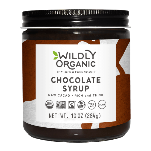 Organic Chocolate Syrup | Raw