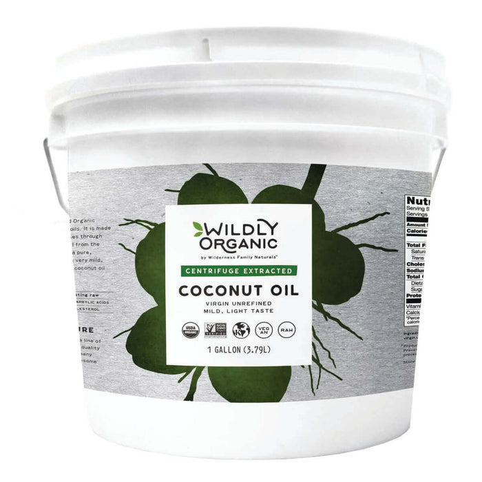 Centrifuge Extracted Organic Coconut Oil