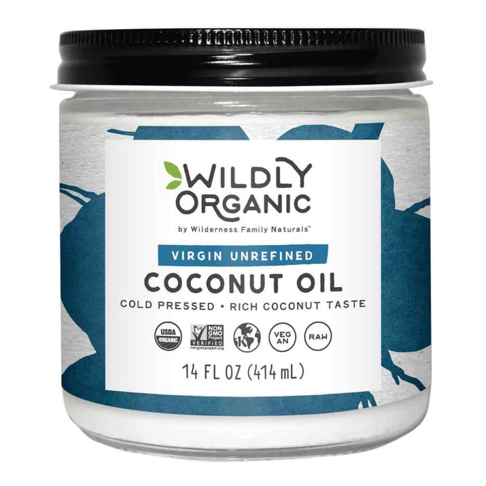 Cold Pressed Organic Coconut Oil | Virgin Unrefined
