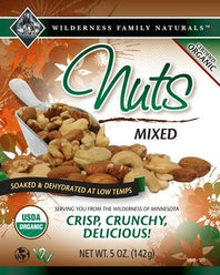 Organic Mixed Nuts | Raw - Select Options