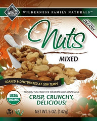 Nuts : Soaked and Dehydrated Nuts - Mixed Nuts | Organic | Raw