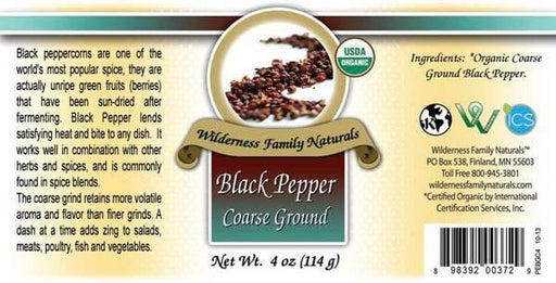 Organic Black Pepper | Coarse