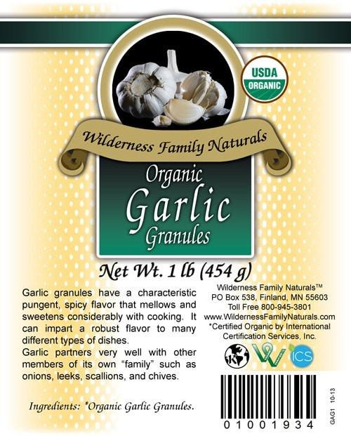Herbs & Spices : Spices & Seasonings - Organic Garlic | Granules