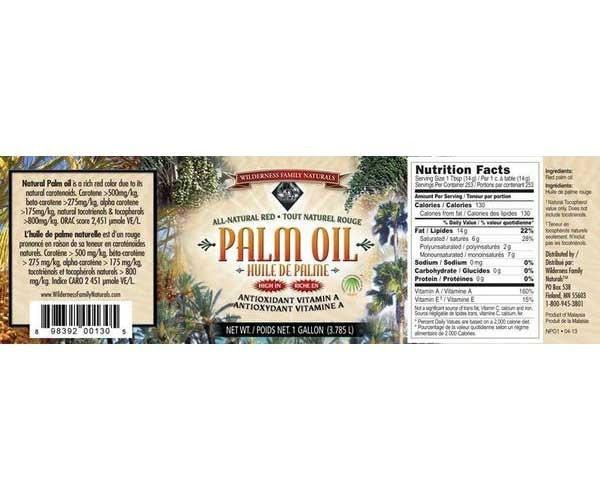Food Oils : Red Palm Oil - Red Palm Oil | Natural