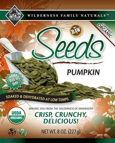 Nuts : Soaked and Dehydrated Nuts - Pumpkin Seeds | Organic | Raw
