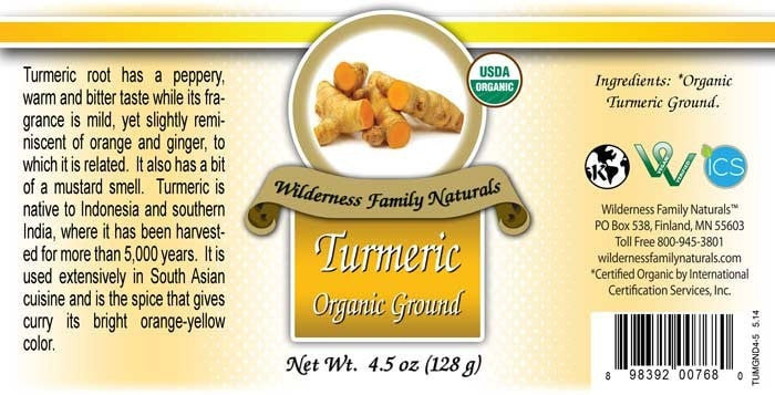 Herbs & Spices : All herbs - Organic Turmeric Powder | Ground