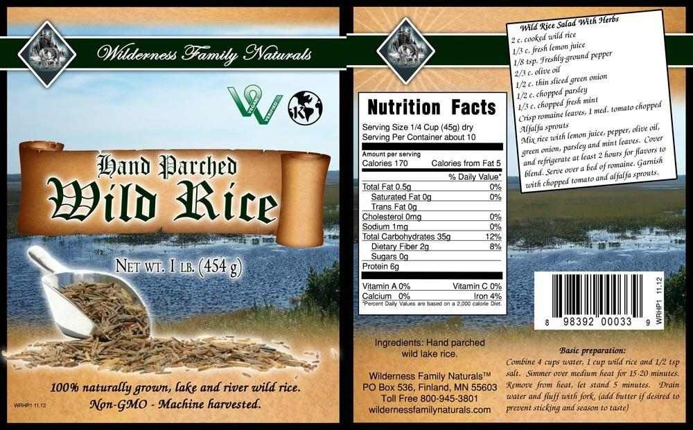 Wild Rice | Hand Parched