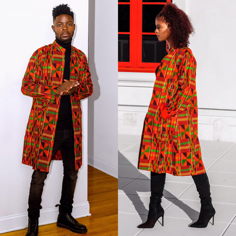 Kente Rew Jacket