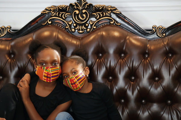kente kube kids headwrap