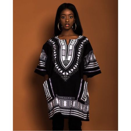 "Black Base Dashiki"" (UNISEX)"