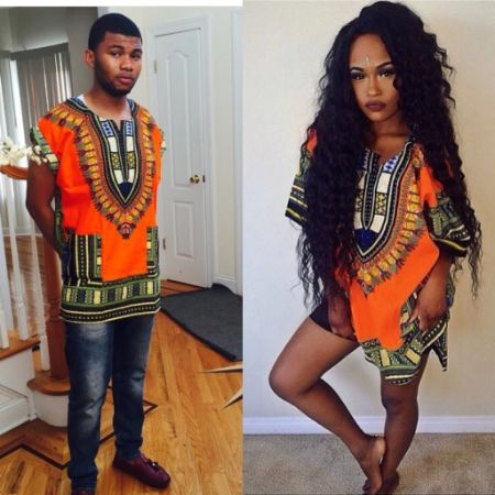 Orange Dashiki""