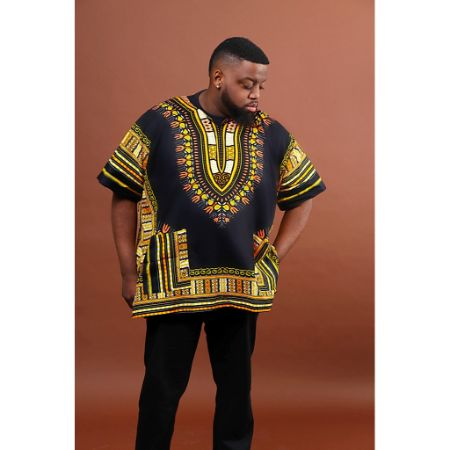 Black and Gold Dashiki