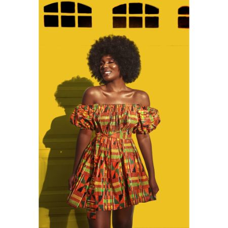 Kente Rew Dress