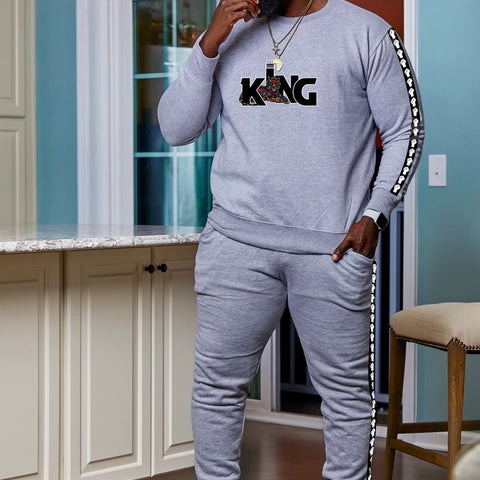 Luther King sweater set (Gray)