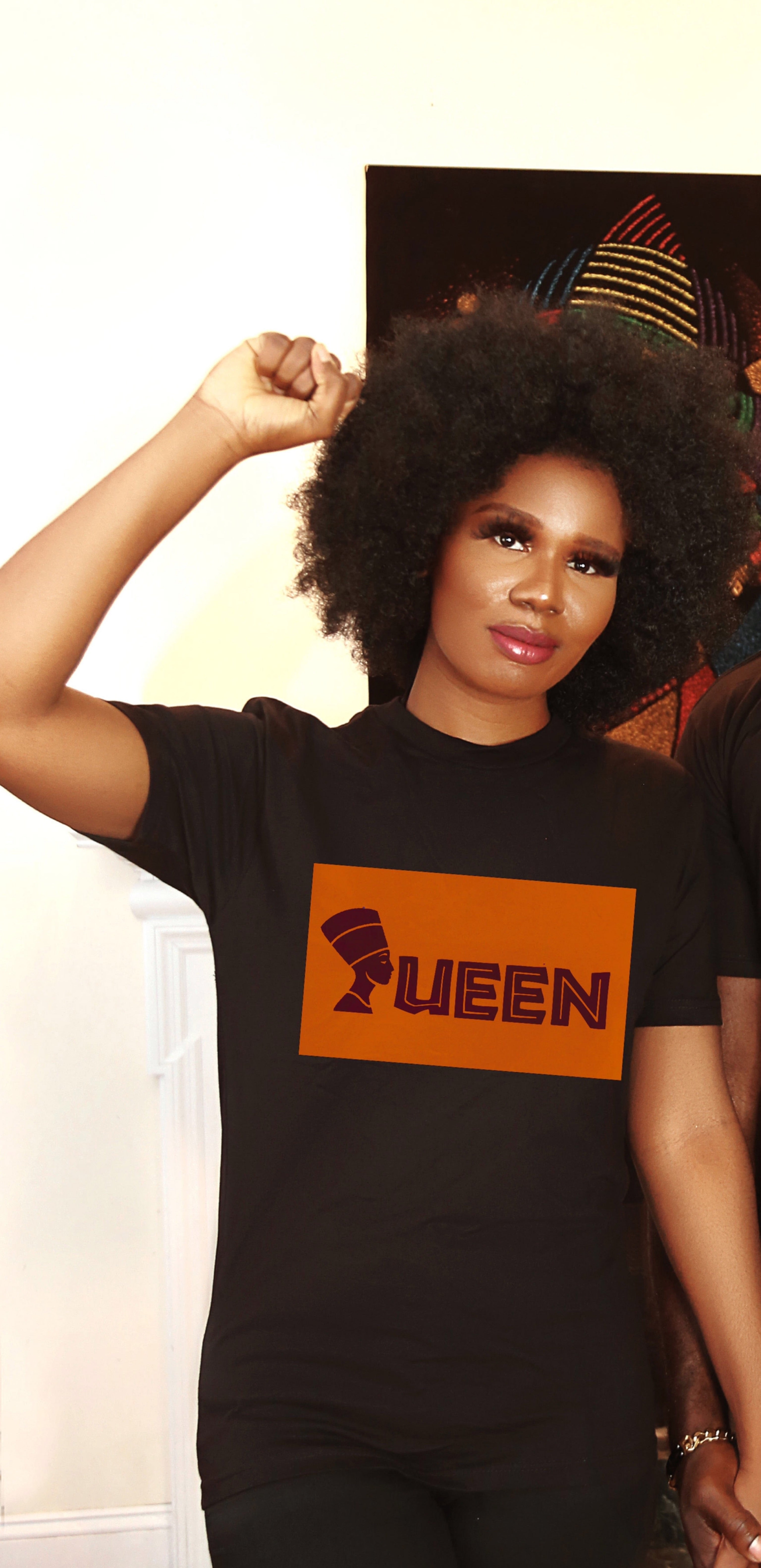 Queen tshirt (black)