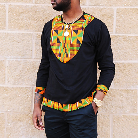 Kente rew polo