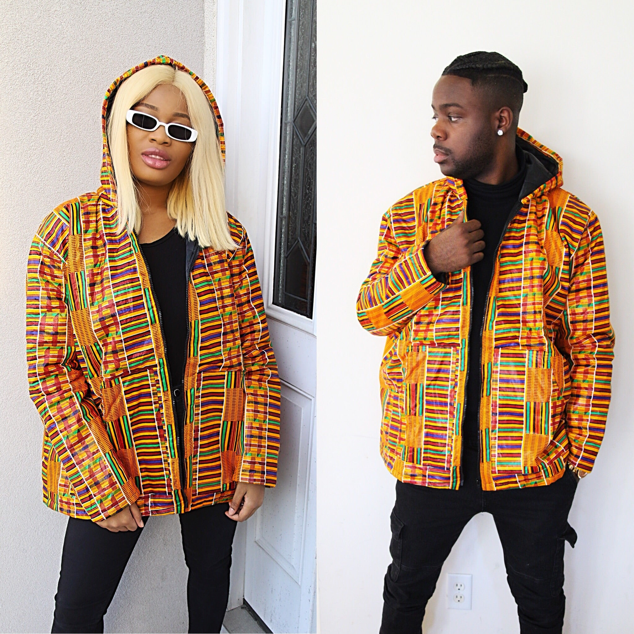 Kente Kube Jacket